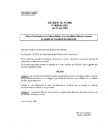 Cabinet Helios nommé conseil de la collectivité
