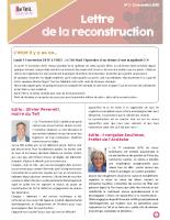 Lettre de reconstruction